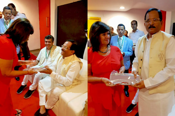 """Antonietta Rozzi invitata a tenere una conferenza al Congresso mondiale di Goa organizzato dal Ministero di AYUSH sul tema:  """"Yoga per la salute pubblica"""""""