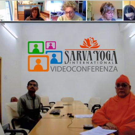 Grande successo della prima lezione Webinar del corso sui testi classici dello yoga in diretta dall'Università di Calcutta