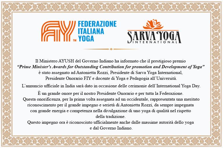Grande riconoscimento alla competenza e impegno di Antonietta Rozzi con il prestigioso premio