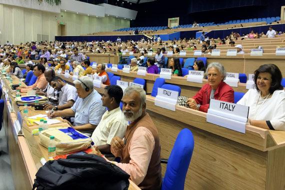 Grande festa dello Yoga italiano a Delhi